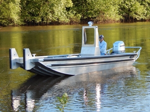 20 ft Push Work Boat Model 2072 Version 2