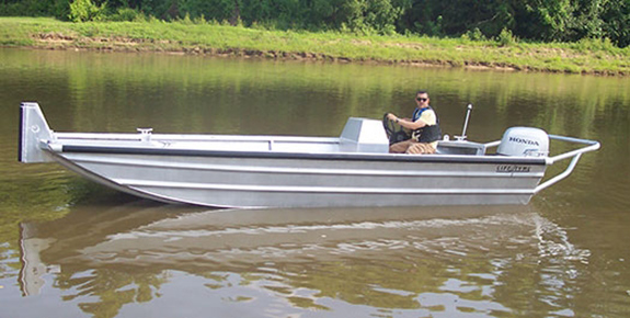 20 ft Push Work Boat Model 2072 Version 1
