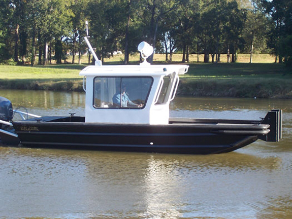 21 ft Cabin Work Boat Model 2172 - Deluxe
