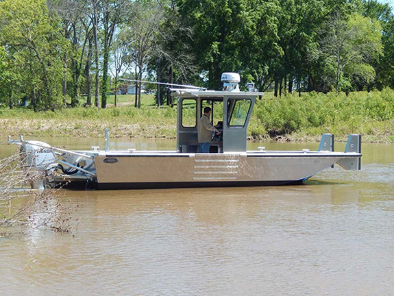 25 ft Cabin Work Boat Model 25108 - Deluxe