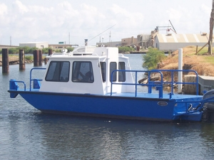 26 ft Cabin Work Boat Model 26102 - Deluxe