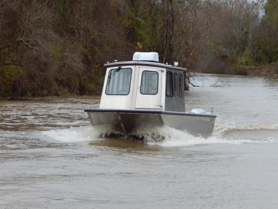 26 ft Cabin Work Boat Model 26102